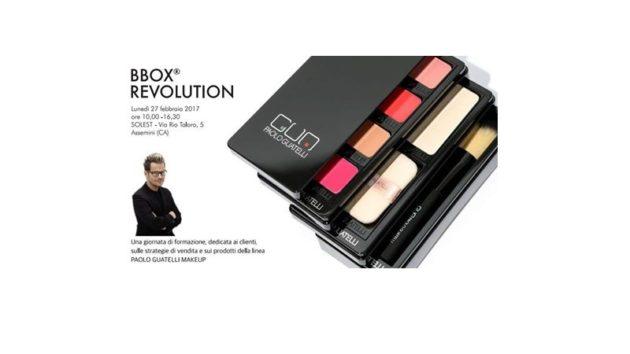 BBOX REVOLUTION con Paolo Guatelli Makeup 27 febbraio 2017